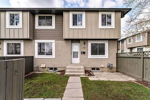 Townhouse for sale at 4936 Dalton Dr Northwest Unit 15 Calgary Alberta - MLS: C4244720