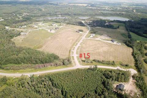 Home for sale at 53524 Range Rd Unit 15 Rural Parkland County Alberta - MLS: E4123586