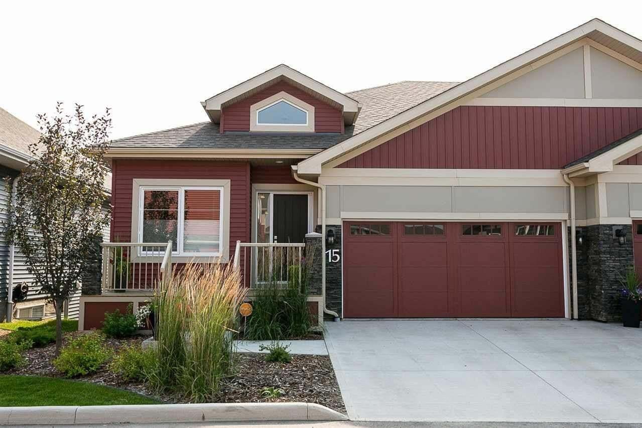 Townhouse for sale at 8132 217 St NW Unit 15 Edmonton Alberta - MLS: E4209128