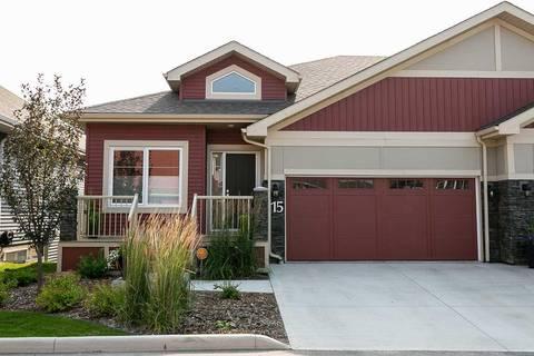 Townhouse for sale at 8132 217 St Nw Unit 15 Edmonton Alberta - MLS: E4149187