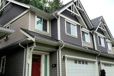 Townhouse for sale at 8200 Blundell Rd Unit 15 Richmond British Columbia - MLS: R2409627