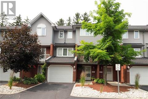 Townhouse for sale at 89 Woolwich St Unit 15 Waterloo Ontario - MLS: 30750201