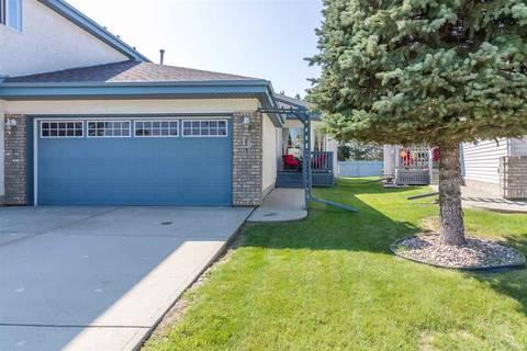 Townhouse for sale at 15 Alana Ct St. Albert Alberta - MLS: E4143465