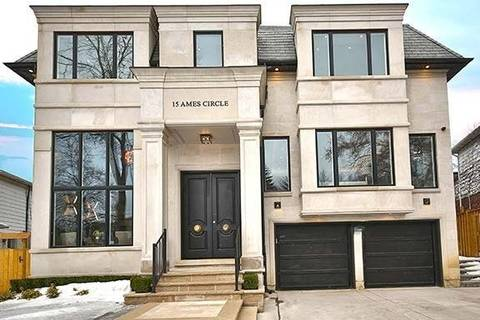 House for sale at 15 Ames Circ Toronto Ontario - MLS: C4387676