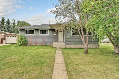 House for sale at 15 Arlington Dr St. Albert Alberta - MLS: E4159448