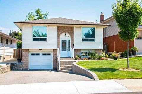 House for sale at 15 Aterno Dr Hamilton Ontario - MLS: X4539341