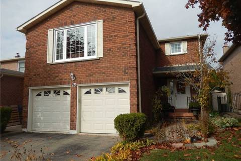 House for rent at 15 Brookview Rd Brampton Ontario - MLS: W4624293