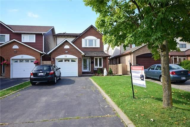House for sale at 15 Buckland Way Brampton Ontario - MLS: W4278821