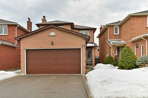 House for sale at 15 Candy Cres Brampton Ontario - MLS: W4383438