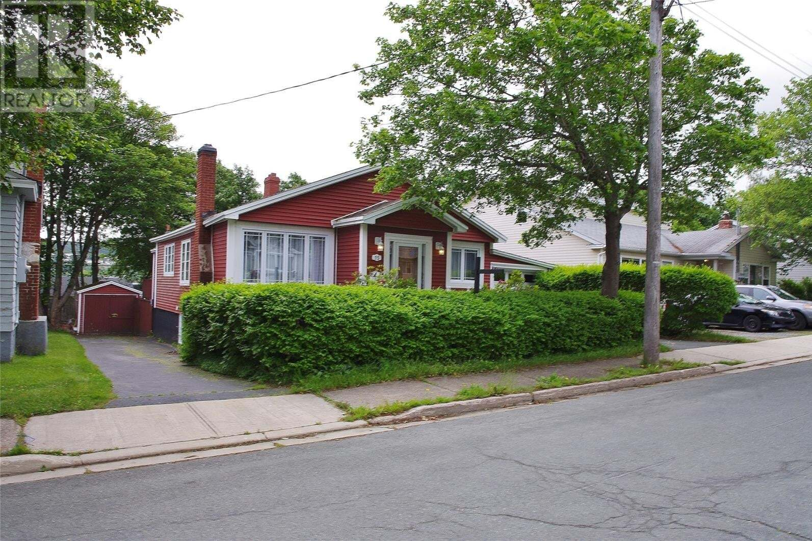 House for sale at 15 Carson Ave St. John's Newfoundland - MLS: 1217338