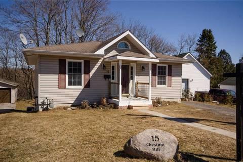 House for sale at 15 Chestnut Hl Port Hope Ontario - MLS: X4395953
