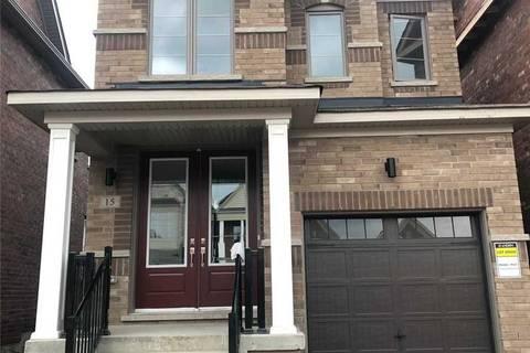 House for rent at 15 Christine Elliot Ave Whitby Ontario - MLS: E4728634