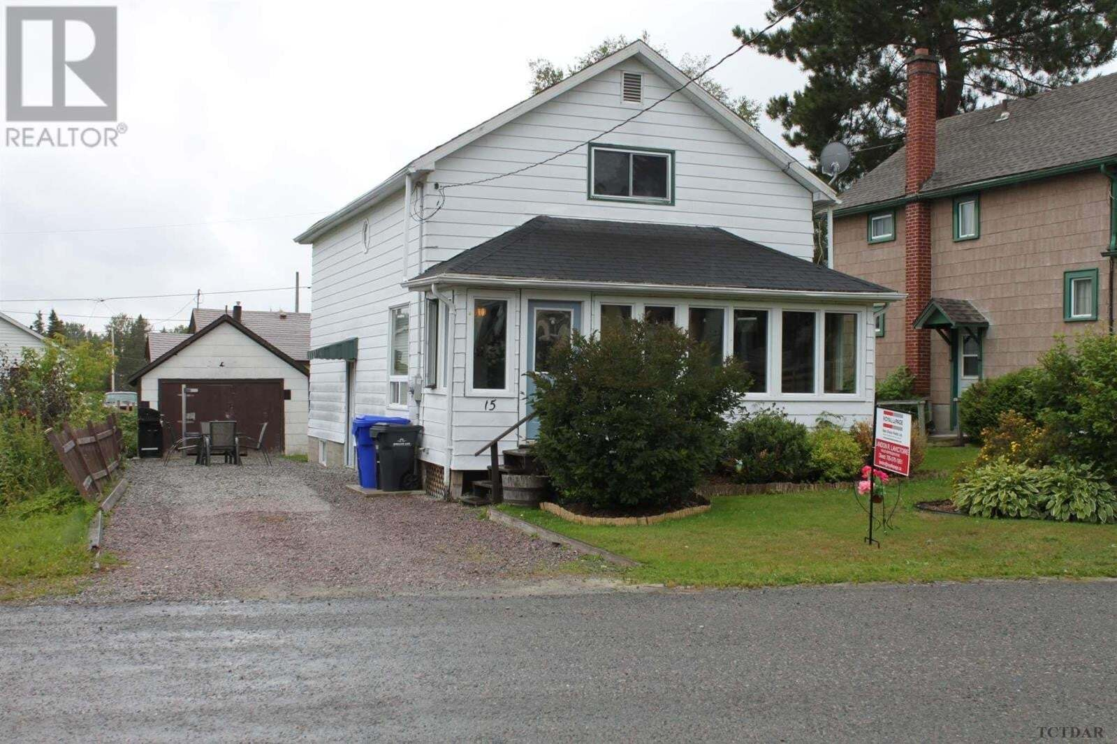 House for sale at 15 Connaught Ave Swastika Ontario - MLS: TM192162