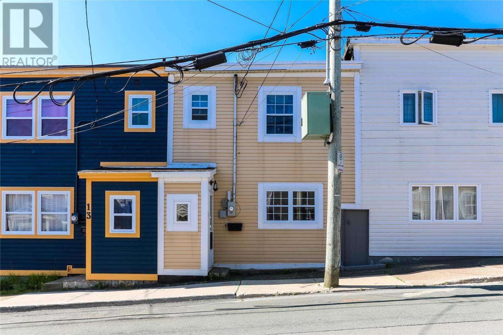 House for sale at 15 Coronation St St. John's Newfoundland - MLS: 1200334