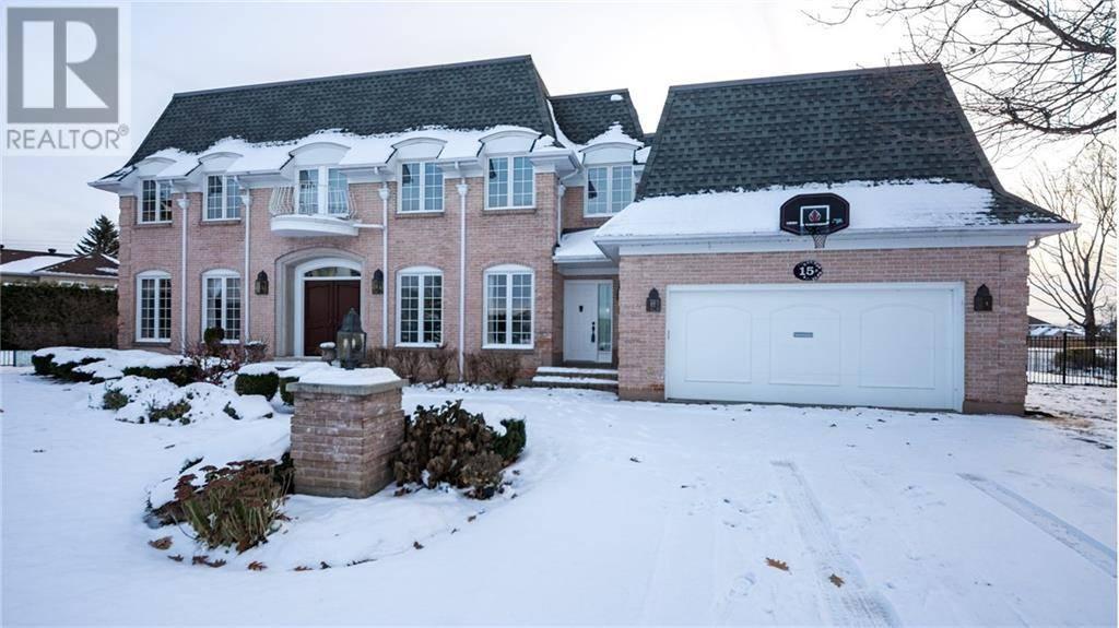 House for sale at 15 Craigmohr Ct Ottawa Ontario - MLS: 1155598
