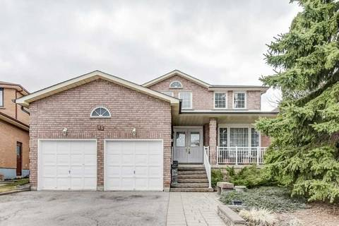 House for sale at 15 Crooked Stick Rd Vaughan Ontario - MLS: N4413587