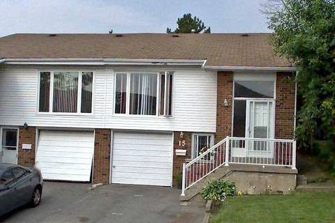 Townhouse for sale at 15 Crosswood Ln Brampton Ontario - MLS: W4456923