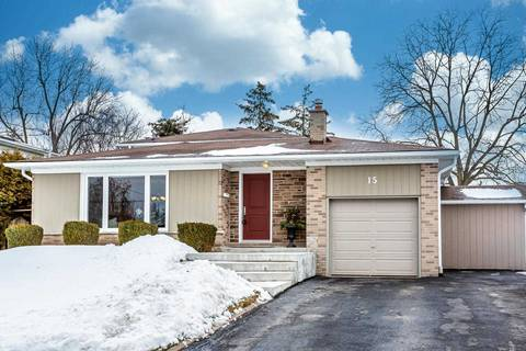 House for sale at 15 Dawson Cres Halton Hills Ontario - MLS: W4697132