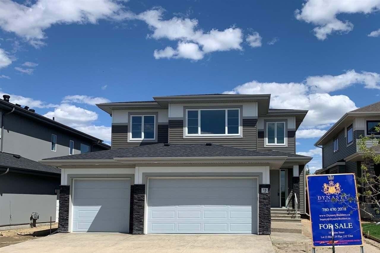 House for sale at 15 Elaine St St. Albert Alberta - MLS: E4199940
