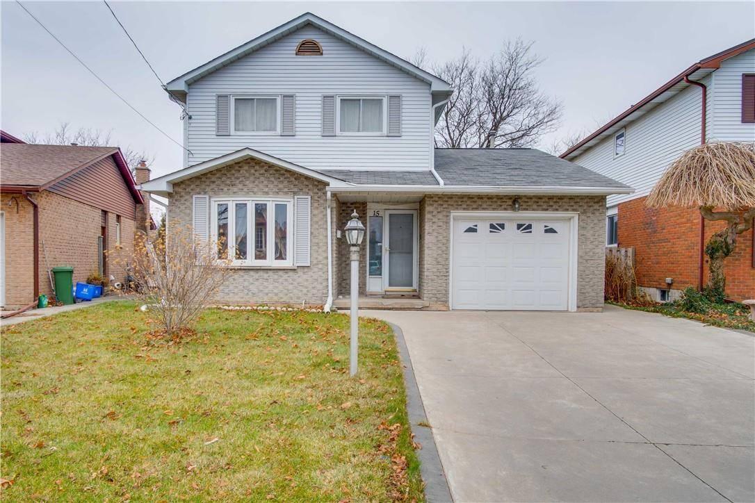 House for sale at 15 Elmbank St Hamilton Ontario - MLS: H4068545