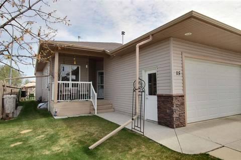 Townhouse for sale at 15 Folkstone Pl Stony Plain Alberta - MLS: E4157603