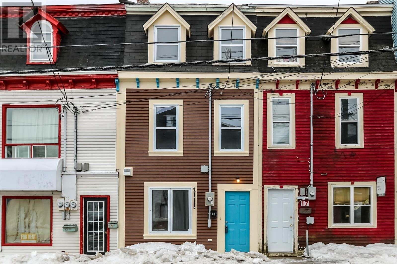Commercial property for sale at 15 Freshwater Rd St. John's Newfoundland - MLS: 1216747