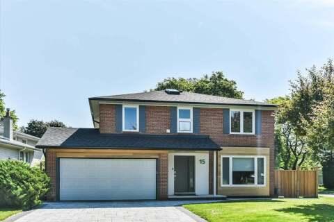 House for sale at 15 Gemini Rd Toronto Ontario - MLS: C4806527