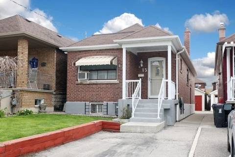 House for sale at 15 Hartley Ave Toronto Ontario - MLS: W4448588