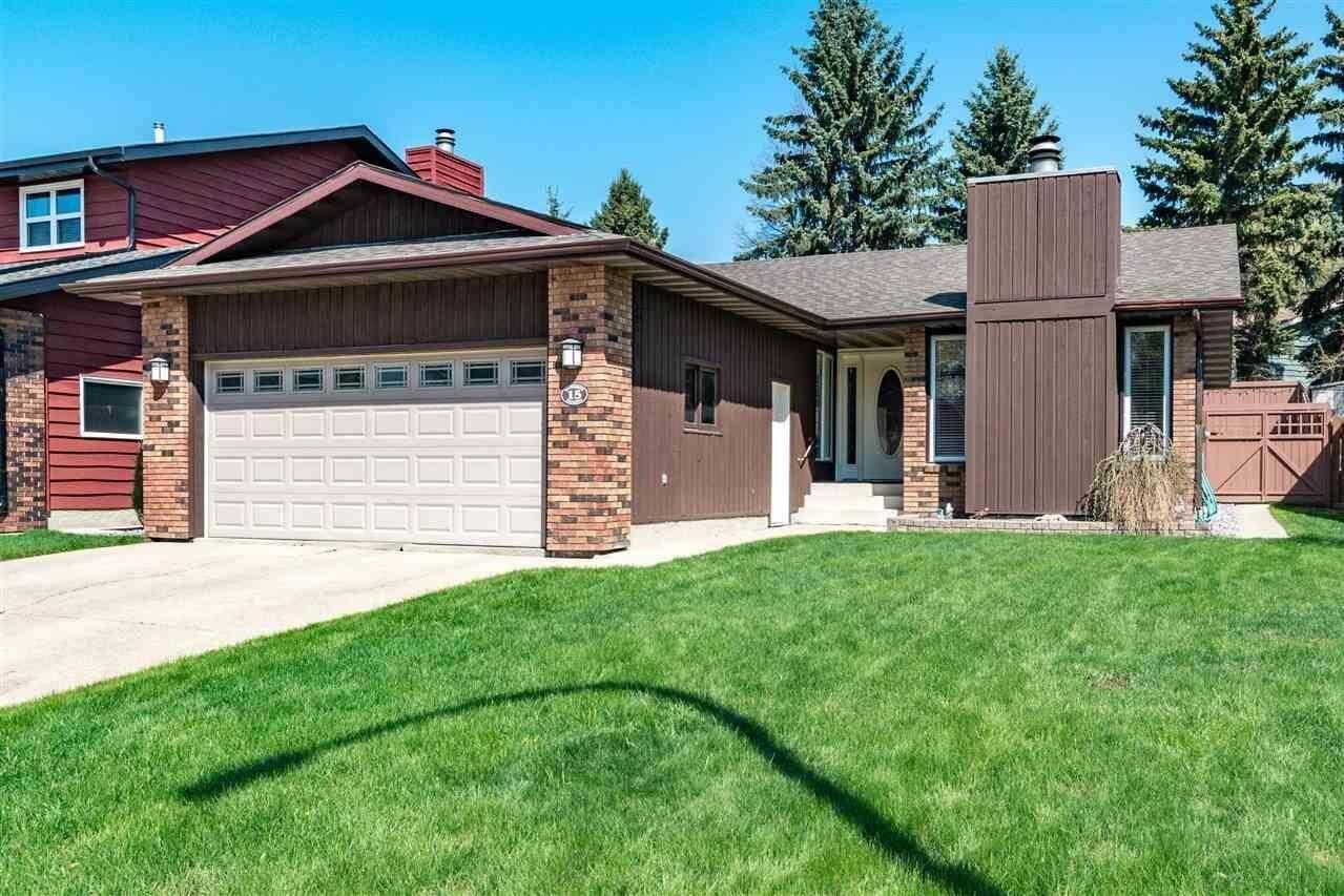 House for sale at 15 Haythorne Cr Sherwood Park Alberta - MLS: E4197589