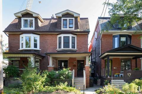 Townhouse for sale at 15 Hewitt Ave Toronto Ontario - MLS: W4581864