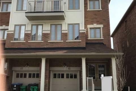 Townhouse for sale at 15 Hobart Gdns Brampton Ontario - MLS: W4462547