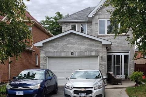 House for sale at 15 Hood Cres Brampton Ontario - MLS: W4605946