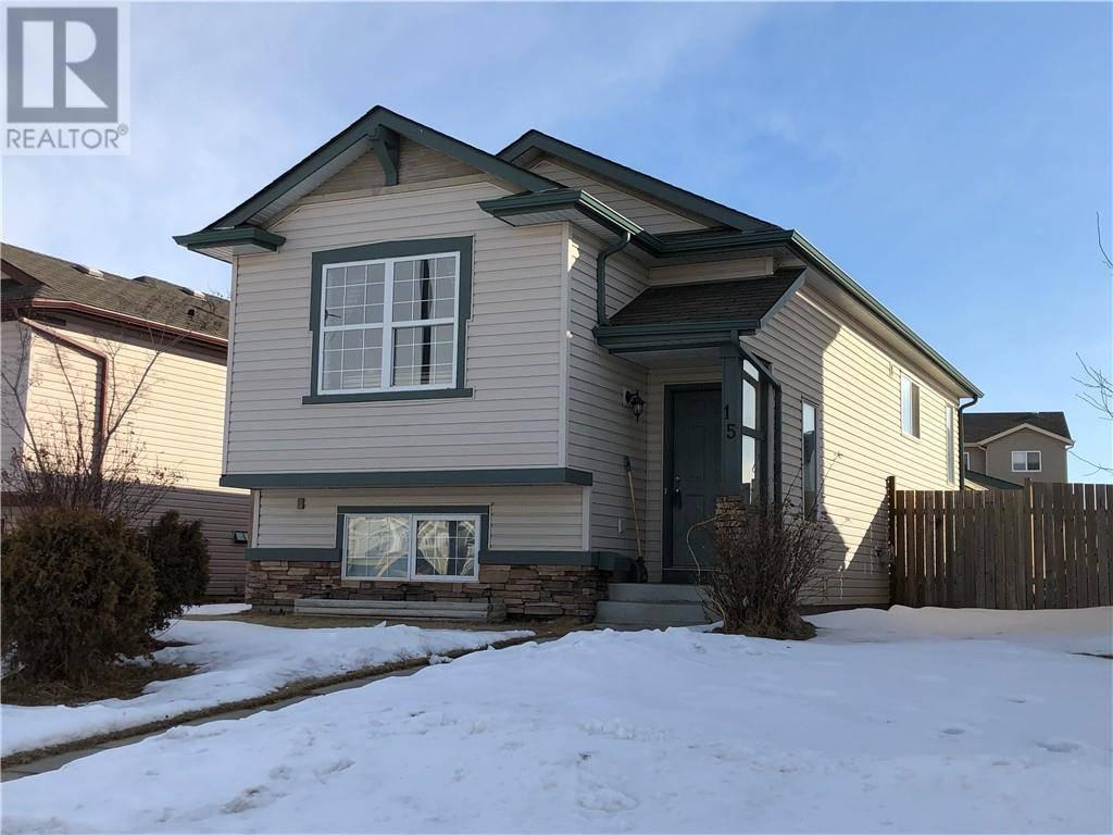 House for sale at 15 Jacobs Cs Red Deer Alberta - MLS: ca0190065