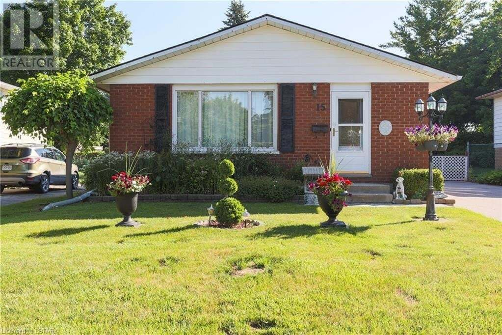 House for sale at 15 Laurel Cres Ingersoll Ontario - MLS: 268404