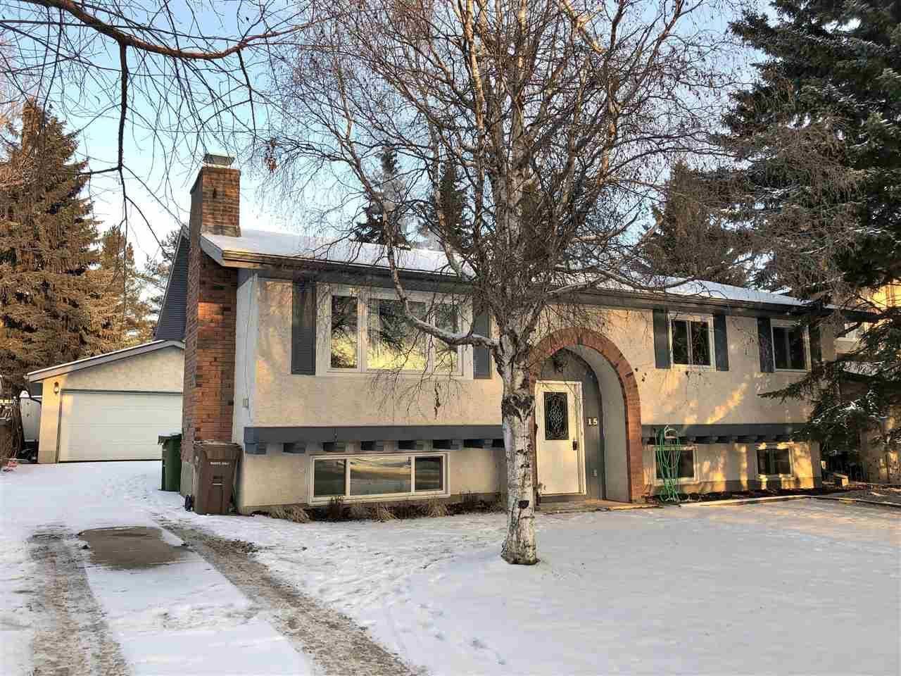 House for sale at 15 Laydon Dr St. Albert Alberta - MLS: E4172537