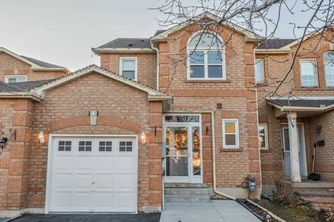 Townhouse for sale at 15 Lent Cres Brampton Ontario - MLS: W4396129