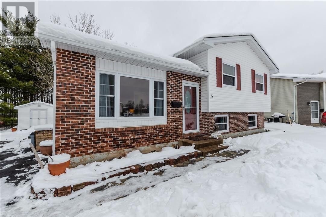 House for sale at 15 Morningside Dr Moncton New Brunswick - MLS: M132382