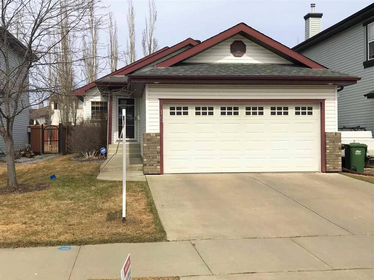 House for sale at 15 Norris Cres St. Albert Alberta - MLS: E4191824