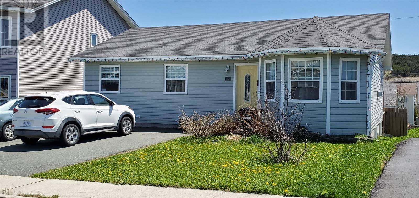 House for sale at 15 Northern Ranger St St. John's Newfoundland - MLS: 1211997