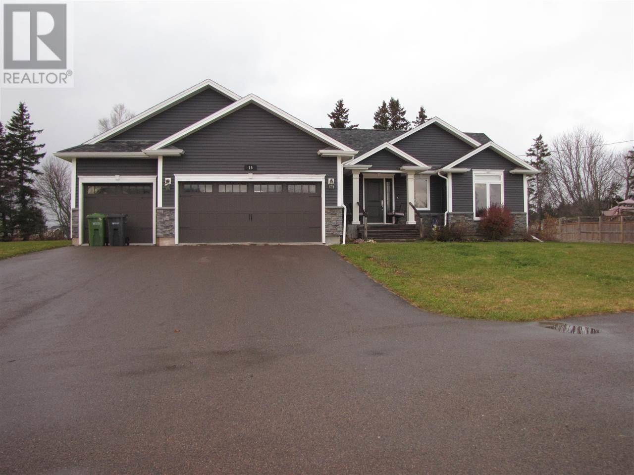 House for sale at 15 Parricus Mead Dr West Royalty Prince Edward Island - MLS: 202002336