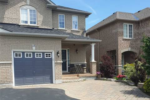 Townhouse for sale at 15 Peak Point Blvd Vaughan Ontario - MLS: N4492102