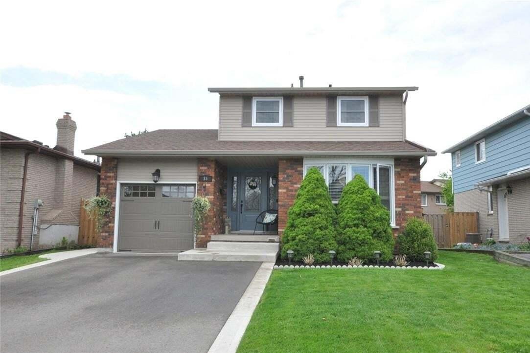 House for sale at 15 Pheasant Pl Hamilton Ontario - MLS: H4078615