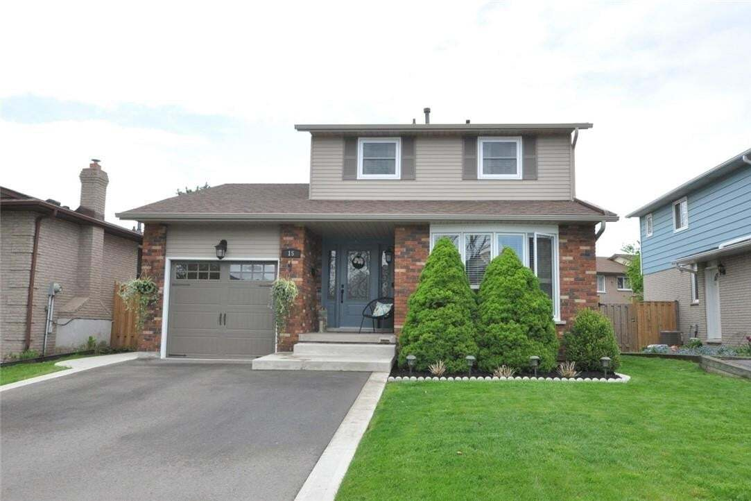 House for sale at 15 Pheasant Pl Hamilton Ontario - MLS: H4079345