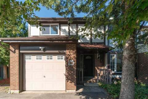 Townhouse for sale at 15 Purvis Cres Toronto Ontario - MLS: E4906229
