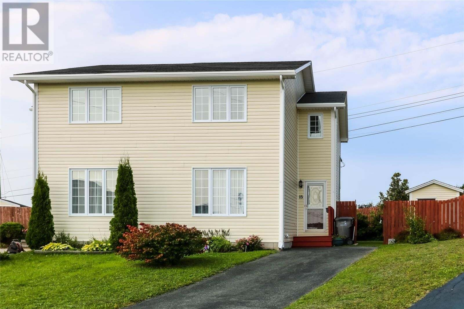 House for sale at 15 Seabright Pl Mount Pearl Newfoundland - MLS: 1221439