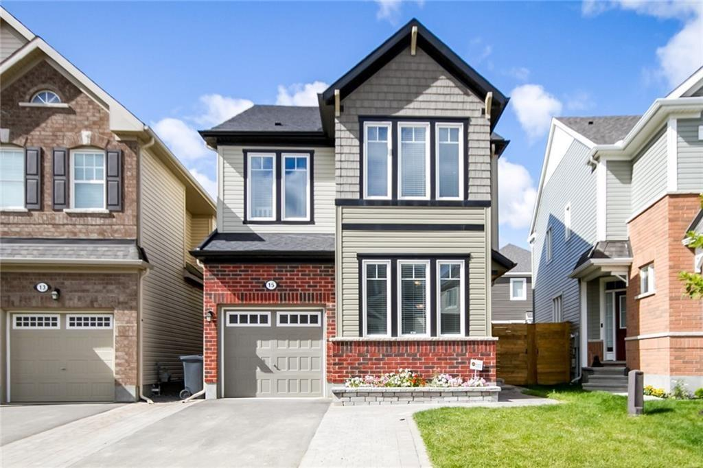 For Sale: 15 Solaris Drive, Ottawa, ON   4 Bed, 3 Bath House for $489,900. See 30 photos!