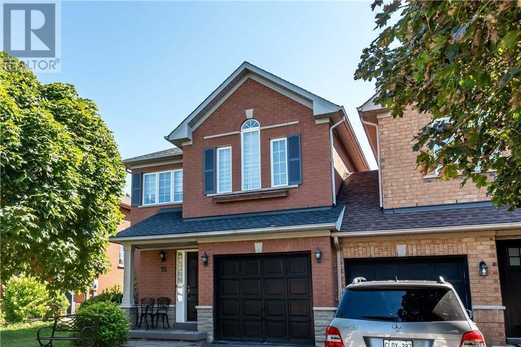 Townhouse for sale at 15 Stevenson St Ancaster Ontario - MLS: 40006962