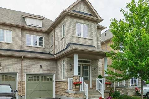 Townhouse for sale at 15 Stoots St Markham Ontario - MLS: N4538830