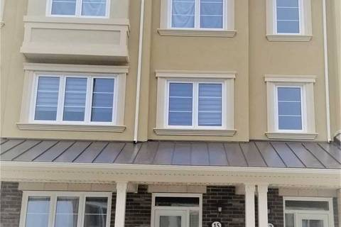 Townhouse for rent at 15 Thomas Swanson St Markham Ontario - MLS: N4490881