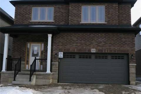 House for sale at 15 Vic Chambers Pl Brant Ontario - MLS: X4387144